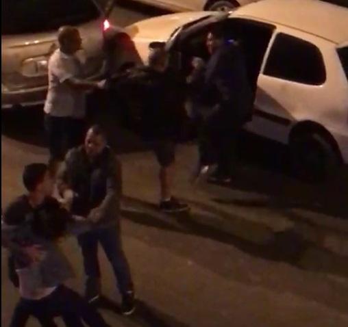 Mulher é empurrada e motorista agredido após acidente de trânsito, em Braço do Norte