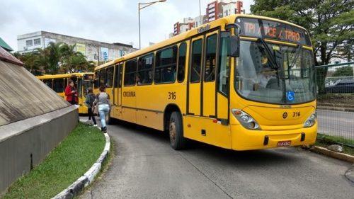 Por reajuste, motoristas de Criciúma suspendem transporte coletivo2