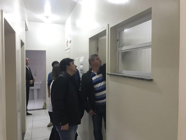 Prefeito de Braço do Norte vistoria obras do novo ESF do Travessão6