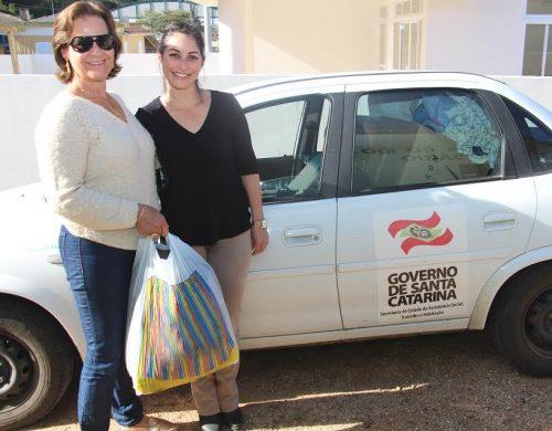 Afas de Lauro Müller doa roupas remanescentes da Campanha do Agasalho às famílias de Bom Jardim3