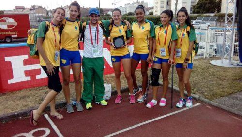 Atleta de equipe de São Ludgero conquista o primeiro ouro em competição na França2