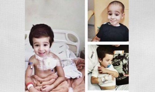 Câncer Morre menino Dudu, de 5 anos