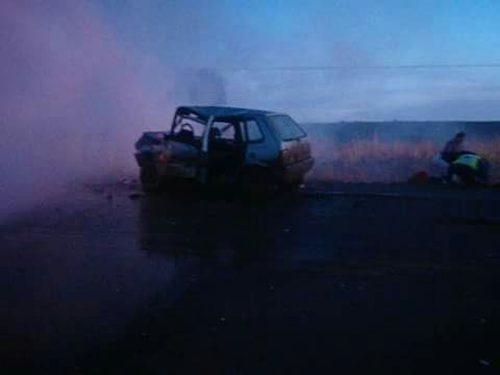 Cinco pessoas morrem carbonizadas em acidente na Serra de SC