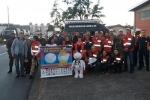 Comboio solidário sobe a serra em prol da Campanha do Agasalho
