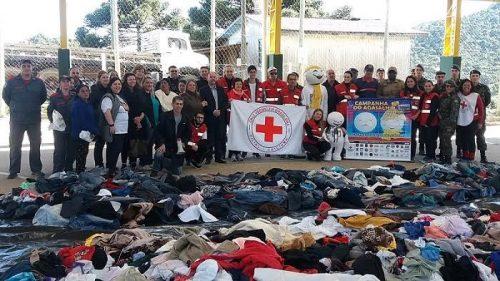 Comboio solidário sobe a serra em prol da Campanha do Agasalho5