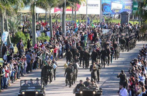 Datas definidas para os desfiles cívico-militares de Criciúma