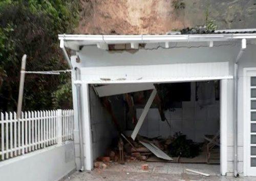 Defesa Civil de Criciúma registra alagamentos e deslizamentos de terra