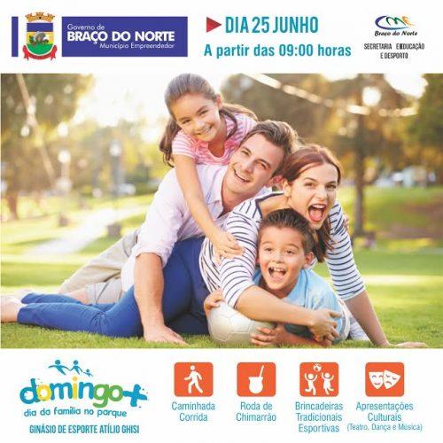 Domingo+ - Dia da família no parque promete final de semana diferente em BN