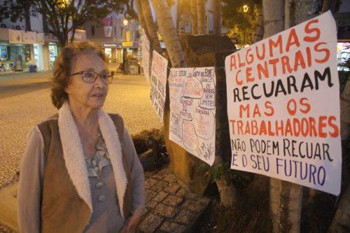 Ex-candidata a governadora termina greve de fome em Criciúma