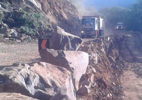 Falta de dinheiro na conta e clima podem atrapalhar obras da BR-285, em Timbé do Sul