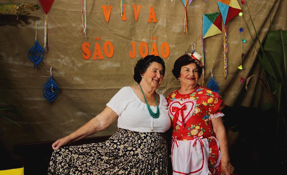 Festa Junina da Terceira Idade reúne idosos do município em Lauro Müller12