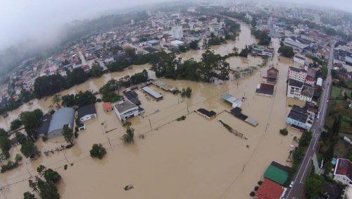 Alagamento Enchente Lages