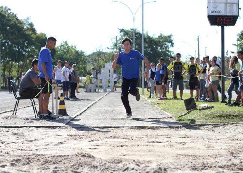 Jesc atletismo reúne 140 alunos na fase municipal