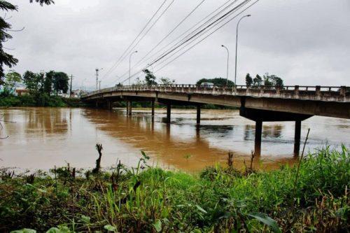Nível do Rio Tubarão baixa para 3,7 metros