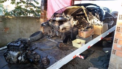 Oficina clandestina de desmanche de veículos é desarticulada pela Polícia Civil6
