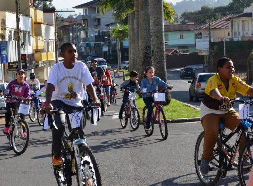Passeio Ciclístico movimenta Siderópolis pelo Dia Mundial Contra o Fumo