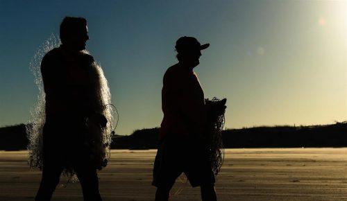 Pescadores garantem fartura na Festa da Tainha em Balneário Rincão2 Pesca tainha