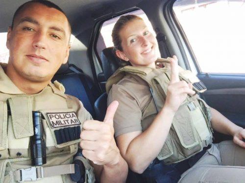 Policiais militares salvam criança de engasgamento