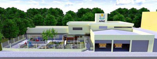 Projeto de ampliação e reforma APAE de Orleans