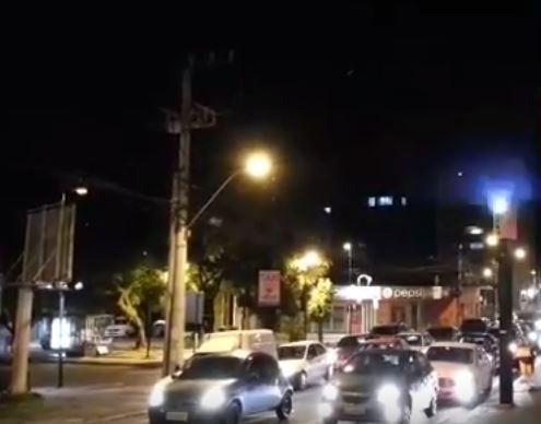 Radar de Criciúma dispara flashes sem parar, mas não aplica multa indevida