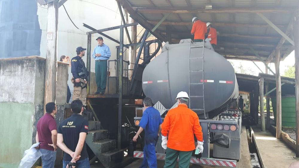 Refinaria de SC é suspeita de usar petróleo roubado da Petrobras para produzir combustível clandestino4