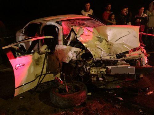 Uma pessoa morre em colisão na SC-447, entre Meleiro e Morro Grande2