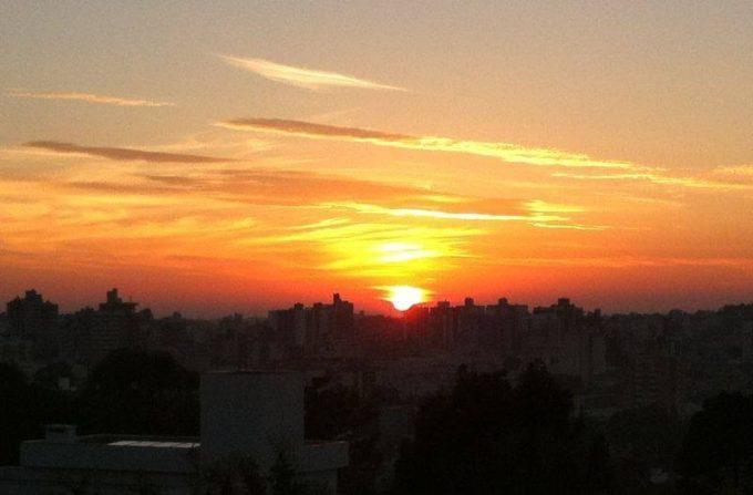 Sol previsão do tempo clima