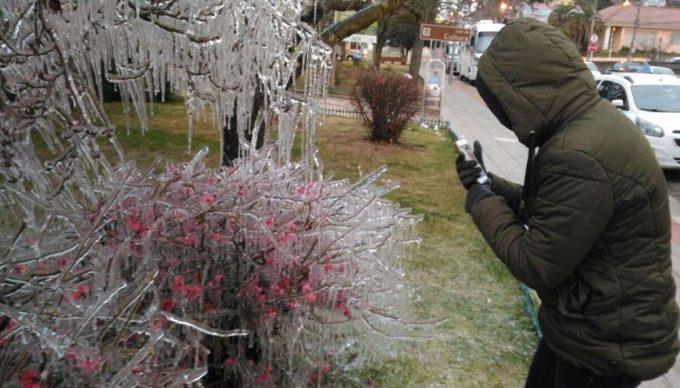 Bom Jardim da Serra registra a temperatura mais baixa do ano no país