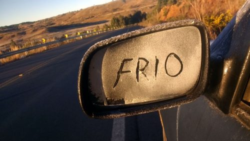 Frio (Foto Mycchel Hudsonn Legnaghi São Joaquim Online)