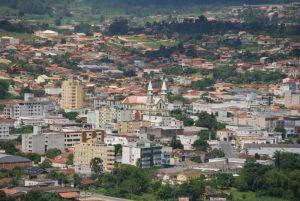 Cidade de Braço do Norte vista