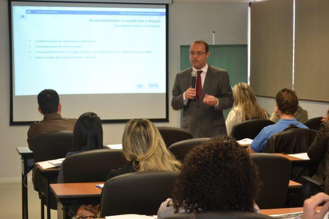 Fiesc Regional Sul promove curso sobre como evitar problemas trabalhistas