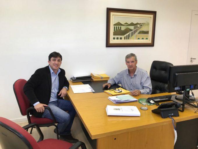 Prefeito de Braço do Norte solicita recursos em Florianópolis