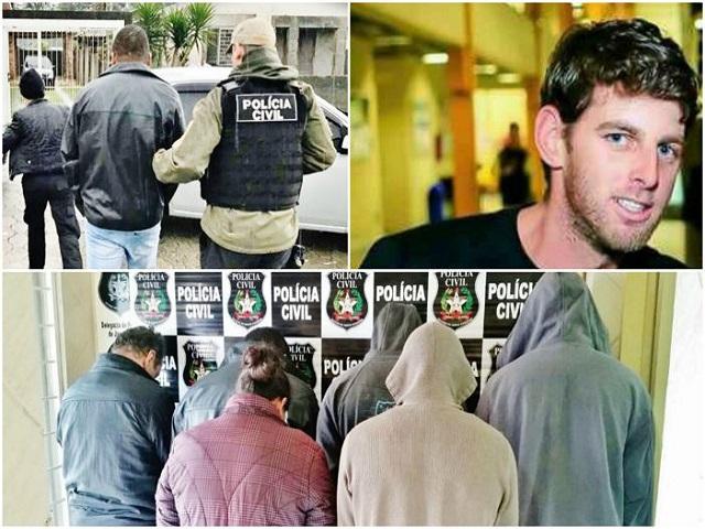 Seis sãao presos acusados de participação em latrocínio em Treze de Maio