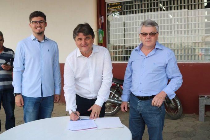 Rua Pedro Francisco Cardoso será pavimentada com recursos da Prefeitura de Orleans