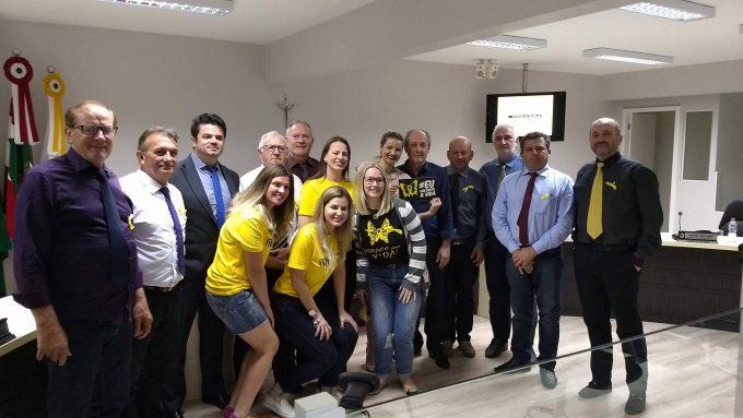 Campanha Setembro Amarelo é lançada na Câmara de Vereadores de Orleans