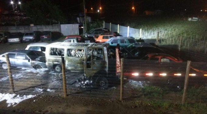 Atentados criminosos são registrados em Araranguá, Gaivota e Arroio