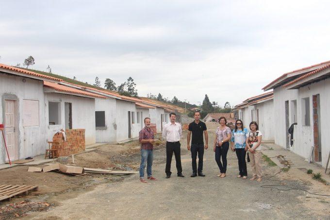 Obras do Condomínio Moradas da Serra entram na reta final em Lauro Müller