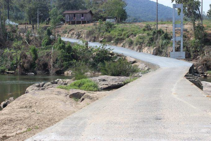Veículos leves já podem passar por ponte da comunidade da Ponte Baixa, em São Ludgero