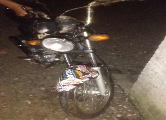 Motociclista fica gravemente ferido após acidente na SC-447, em Morro Grande