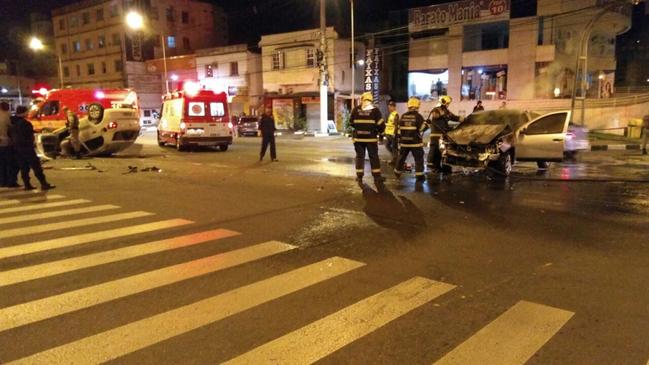 Padre Samiro fica ferido em acidente de trânsito, em Criciúma