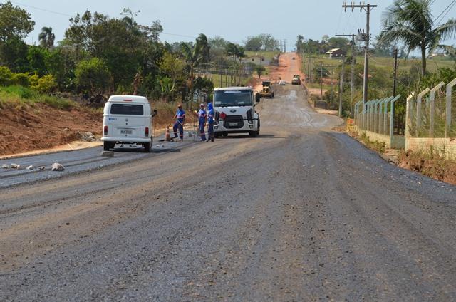 Pavimentação da ICR 253 – Santuário (3)