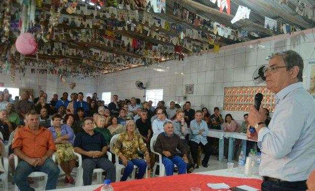 Vice-governador assina convênio de R$ 3,3 milhões para Balneário Rincão