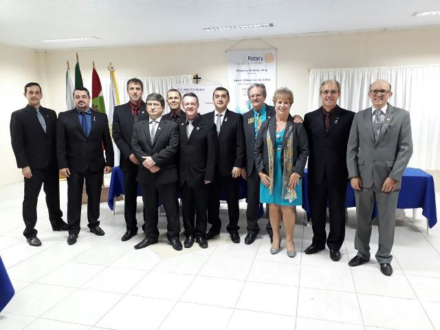 Rotary Clube comemora 20 anos de prestação de serviços à comunidade de Lauro Müller