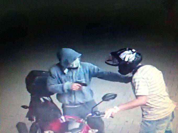 PM de Braço do Norte prende três assaltantes após roubo de motocicleta