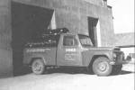 A Plaszom na época em que era ainda fábrica apenas de mangueiras plásticas e sua caminhonete