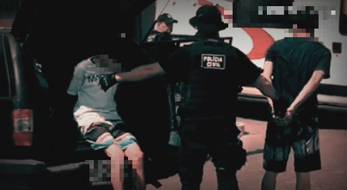 Quarteto envolvido no latrocínio do vigilante no Paço Municipal é preso