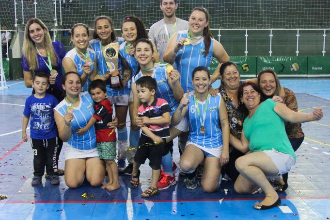 Cairú vence o Campeonato Municipal Feminino de Vôlei de Lauro Müller