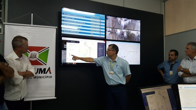 Transporte coletivo urbano de Criciúma ganha Centro de Controle Operacional e aplicativo Moovit