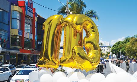 Hospital Nossa Senhora da Conceição comemora aniversário com bolo de 113 metros