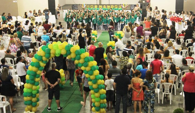 Rede Municipal de Ensino de Lauro Müller encerra 2017 com cerca de 200 alunos formados